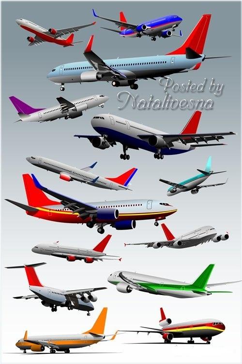 دانلود تصاویر لایه باز PSD انواع مختلف هواپیما