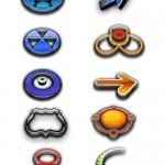 دانلود آیکون ها و لوگوهای خلاقانه لایه باز Creative logos icons psd for Photoshop