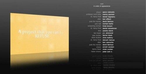 دانلود 10 پروژه افترافکت آماده برای تیتراژ فیلم Film Credits - Project for After Effects
