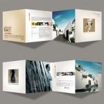 دانلود 2 طرح لایه باز بروشور تبلیغاتی مدرو و زیبا سری 12