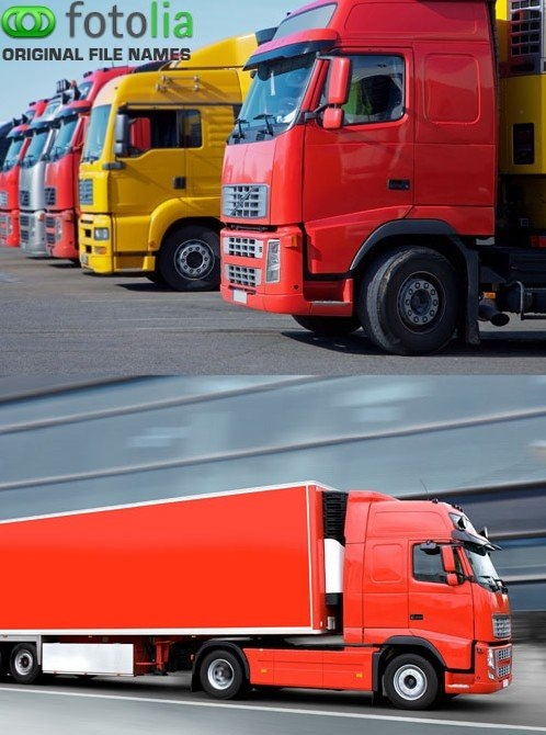 دانلود 5 تصاویر استوک کامیون و بارکش ها