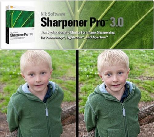 دانلود نرم افزار افزایش کیفیت عکس Nik Software Sharpener Pro 3.008