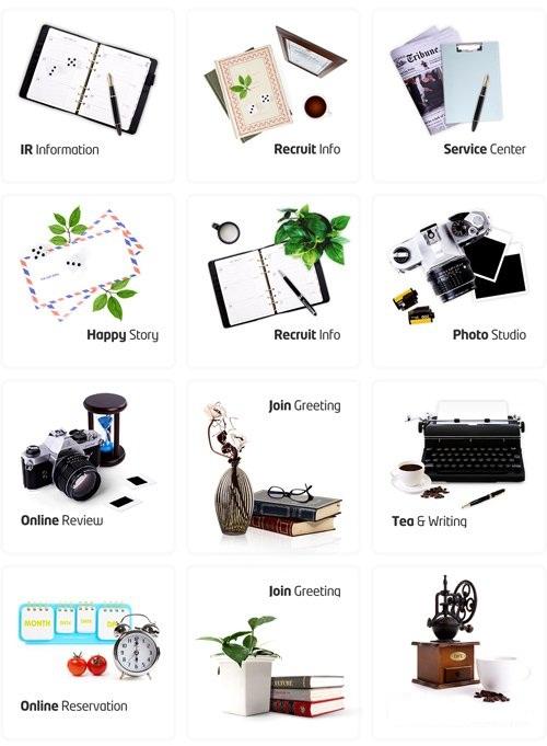 دانلود طرح لایه باز انوع و اقسام وسایل و ابزارها Sources Psd Books Cameras and Notebooks pack
