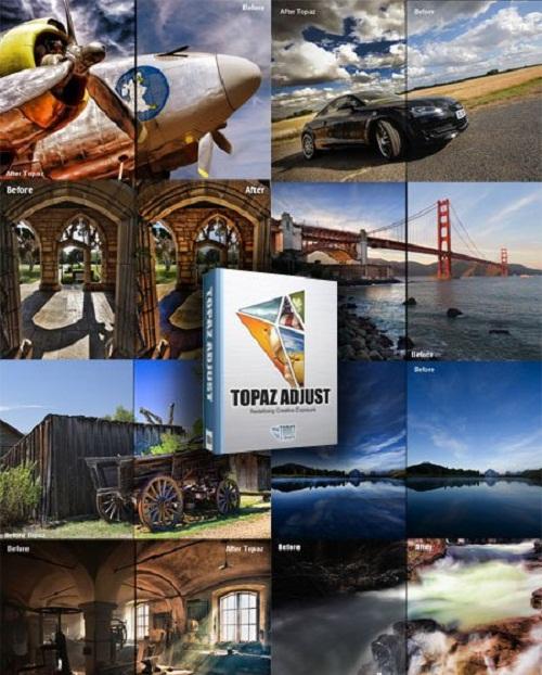 دانلود پلاگین حرفه ای فتوشاپ Topaz Adjust 5.0.0 for Photoshop