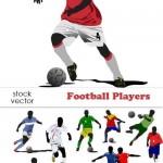 دانلود وکتور بازیکنان فوتبال Vectors Football Players