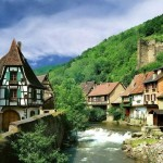 تصاویر روستایی در فرانسه معروف به بهشت کوچک