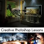 دانلود کتاب آموزش خلق تصاویر خلاقانه با فتوشاپ همراه با فایل تمرینی