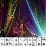 دانلود براش زیبای نور فتوشاپ Brush – Luminous effect
