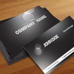 دانلود طرح لایه باز کارت ویزیت با طرح تیره شماره 31