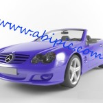 دانلود مدل 3 بعدی ماشین Mercedes SL500 برای 3D Max