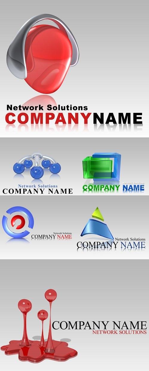 دانلود طرح لایه باز PSD لوگو و آرم های خلاقانه شماره 2 Creative logos pack 2 for Photoshop