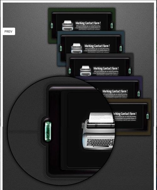 دانلود اسلایدرهای لایه باز PSD برای فتوشاپ Deluxe Slider Sample for Photoshop