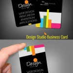 دانلود طرح لایه باز PSD کارت ویزیت برای شرکت های و استودیو های طراحی