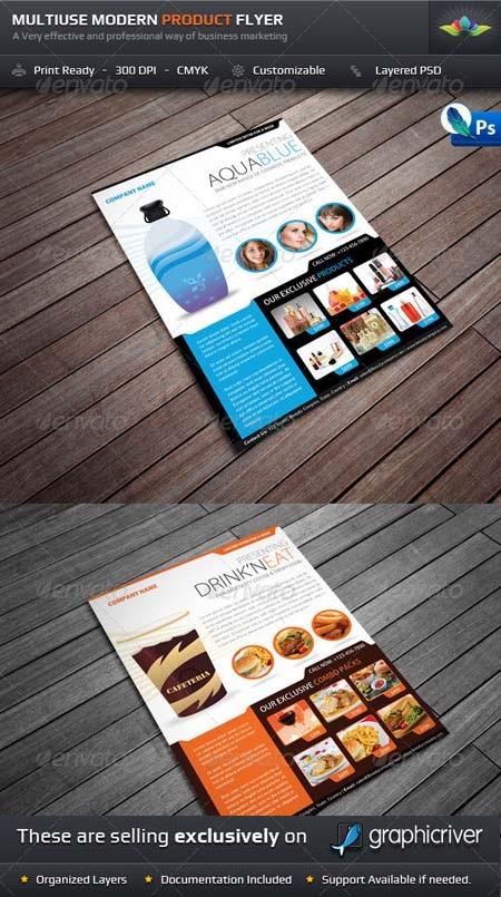 دانلود پوستر های لایه باز PSD چند منظوره زیبا از شرکت Graphicrive