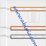دانلود طرح لایه باز منوهای مخصوص سایت با طرح چوب