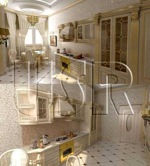 دانلود مدل 3 بعدی آشپزخانه برای تری ذی مکس
