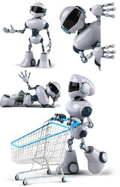 دانلود تصاویراستوک روبات Robot Stock Photo
