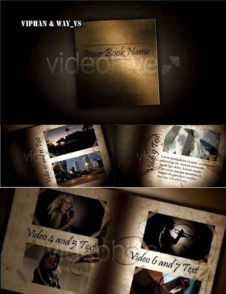دانلود پروژه آماده افترافکت VideoHive After Effects Project - VideoBook