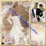دانلود فریم و قاب عکس لایه باز PSD زیبای ازدواج با نام زمان عاشقی