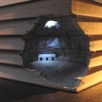 تصاویری بسیار زیبا از طراحی به وسیله کتاب