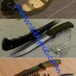 دانلود مدل های آماده 3d Max از خنجر و چاقو