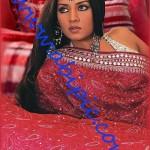 دانلود قالب آماده عکس پرتره هندی لایه باز A beautiful Indian woman PSD