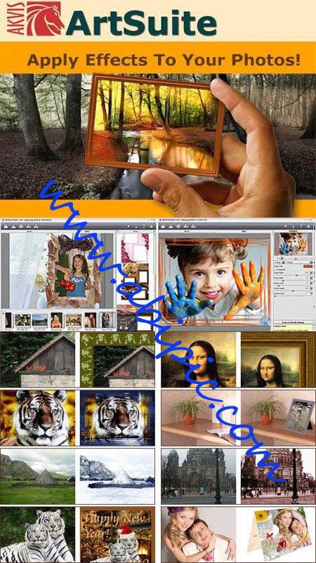 دانلود پلاگین افکت گذاری روی عکس AKVIS ArtSuite 8.0.2341.8634 Multilingua