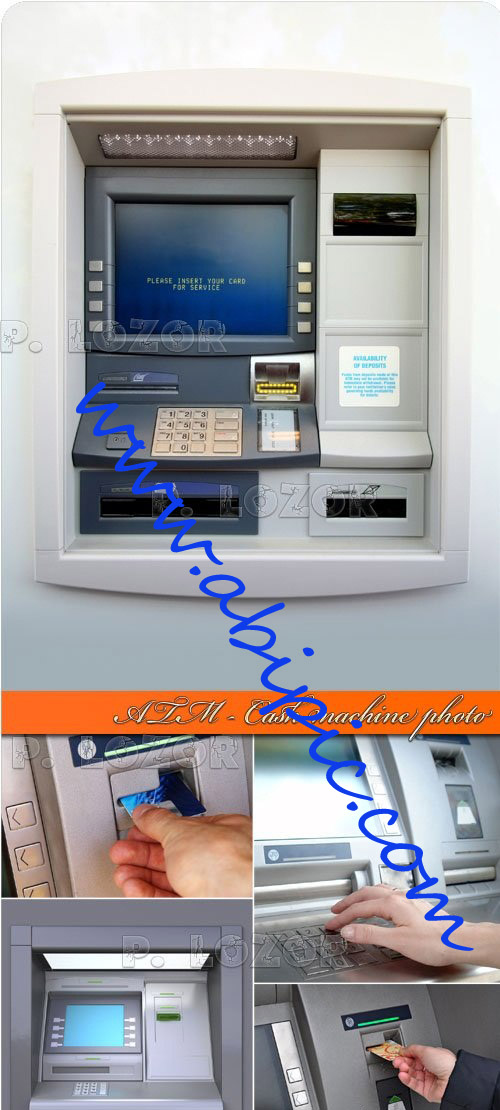 دانلود تصاویر استوک دستگاه خودپرداز بانک ATM Cash machine photo