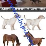 دانلود طرح و مدل های 3 بعدی حیوانات برای 3d max
