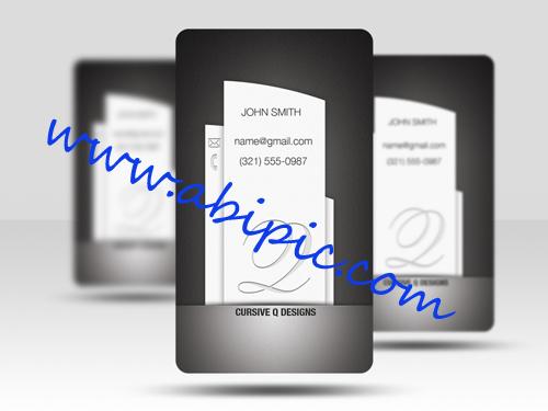 دانلود طرح لایه باز کارت ویزیت حرفه ای شماره 33