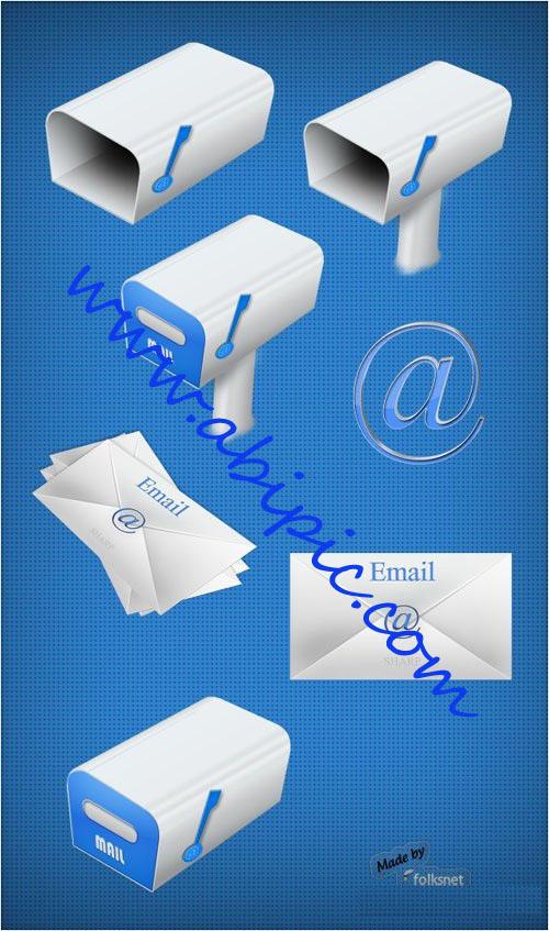 دانلود آیکون های ایمیل و نامه Icons Sharp Email