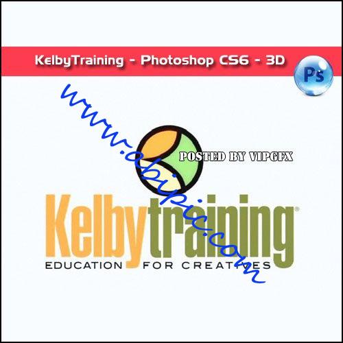 دانلود فیلم آموزش 3 بعدی در فتوشاپ CS6 شرکت KelbyTraining