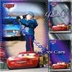 دانلود طرح لایه باز قاب عکس کارتون ماشین ها برای پسر بچه ها