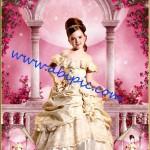 دانلود قالب عکس پرتره لایه باز PSD دخترانه (تمامی جزئیات لایه باز است)
