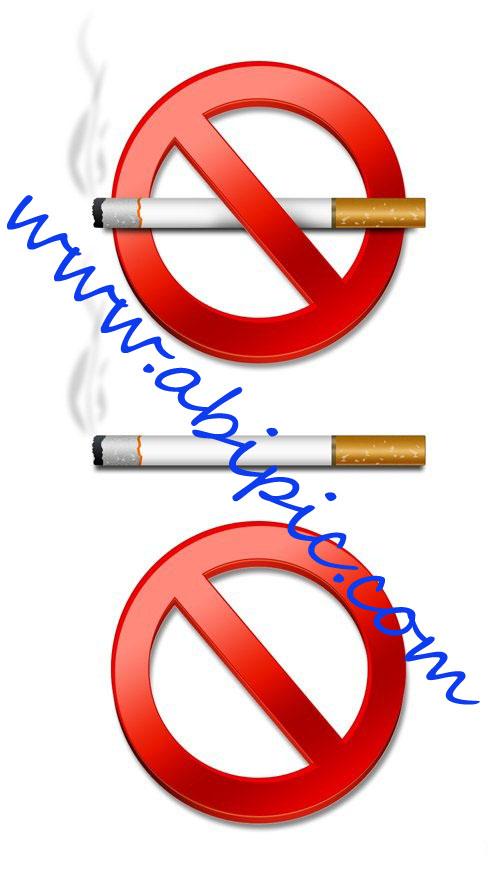 دانلود طرح لایه باز سیگار کشیدن ممنوع No Smoking Psd