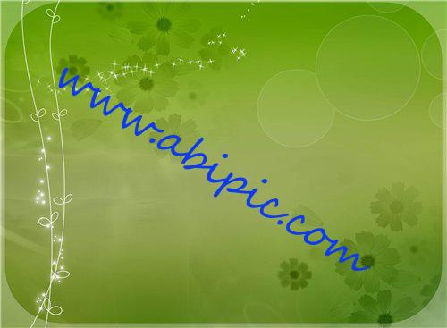 دانلود الگو و پترن های لایه باز فتوشاپ PSD Green Flowers Pattern