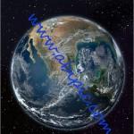 دانلود طرح لایه باز 3 بعدی سیاره زمین از فضا