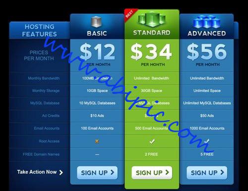 دانلود طرح لایه باز PSD جدول قیمت وفروش با گرافیک زیبا