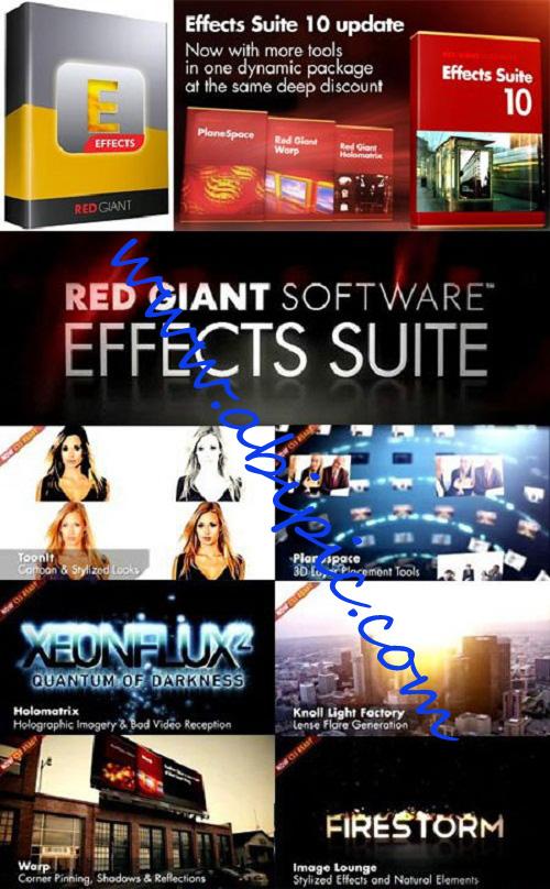 دانلود پلاگین Red Giant Effects Suite 10.0.2 سازگار با فتوشاپ و افترافکت CS6