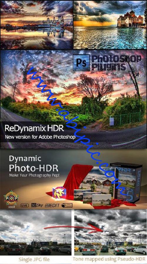 دانلود 2 پلاگین برای HDR کردن عکس ها در فتوشاپ