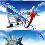 دانلود تصاویر استوک مسافرت و گردشگری Travel Stock Photo