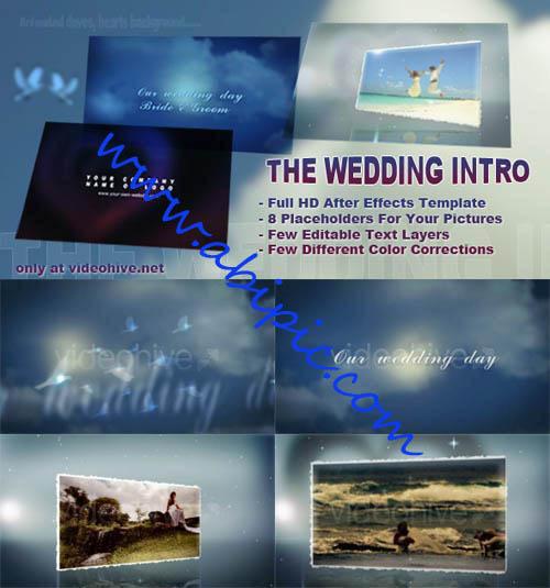 دانلود پروژه افتر افکت مخصوص ازدواج The Wedding Intro
