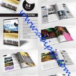 دانلود طرح ایندیزاین مجله 24 صفحه ای در سایز A4