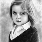 تصاویری زیبا از نقاشی های سیاه قلم