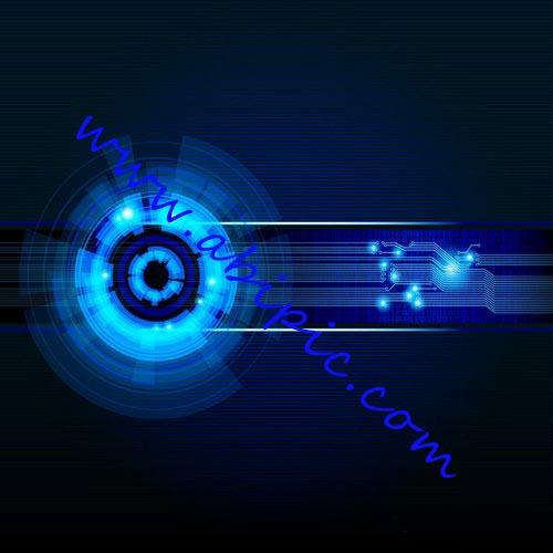 دانلود وکتور پس زمینه و استایل با موضوع پیشرفت و توسعه Background Vector Abstract Futuristic