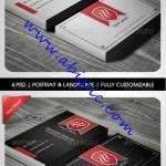 دانلود 2 طرح لایه باز کارت ویزیت شیک و زیبا شماره 40