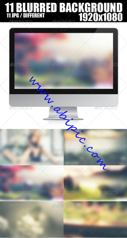 دانلود 11 تصویر بکگراند مات برای طراحی Blurred Background