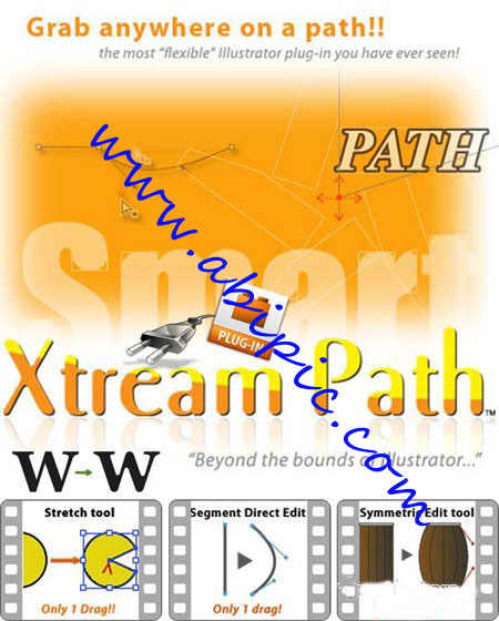 دانلود پلاگین CValley Xtream Path 1.4 - Ai8 برای Adobe Illustrator