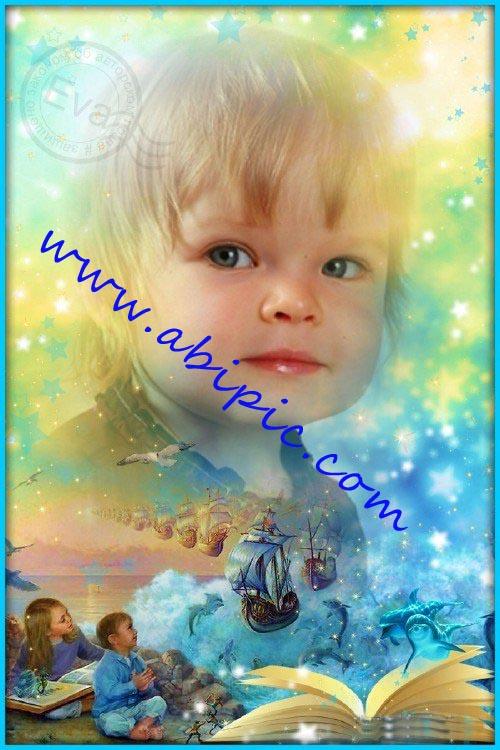 دانلود فون عکس کودک با نام فرشته دوست داشتنی من