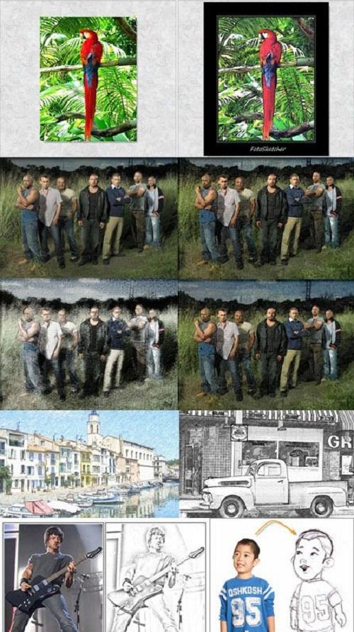 دانلود نرم افزار تبدیل عکس به نقاشی FotoSketcher v2.30